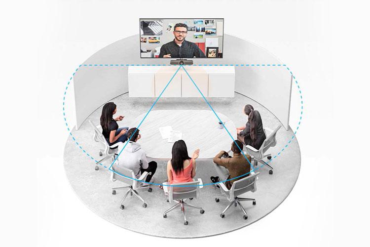 logitech meetup video konferans